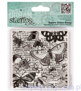 Stempel Papermania - Urban Stamps - Lepidopterology - Motyle