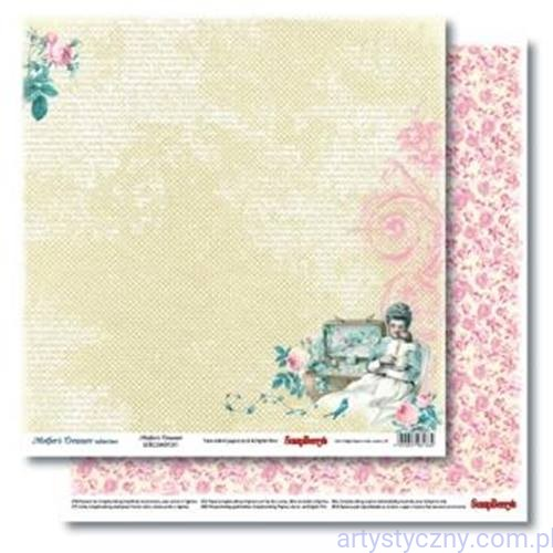 Papier do Scrapbookingu, Mother's Treasure Forever, 30x30сm
