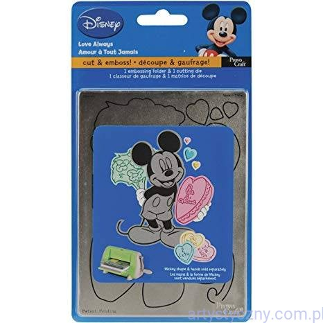 Wykrojnik i Folder - Cuttlebug Disney A2 Combo Set - Love Always